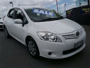 2010 Toyota Corolla ZRE152R MY10 Ascent White 4 Speed Automatic Hatchback Greenacre Bankstown Area Preview