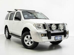 2008 Nissan Pathfinder R51 08 Upgrade ST (4x4) White 5 Speed Automatic Wagon