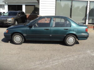 1994 Toyota Tercel DX (only 110,000 kms)