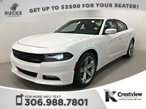 2015 Dodge Charger SXT Plus | Leather | Sunroof | Navigation
