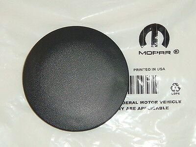 DODGE RAM 2003 - 2010 REAR BUMPER STEP PAD TOWING BALL PLUG ROUND CAP OEM NEW