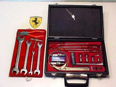 Ferrari Tool Kit_Briefcase_Oil Filter_Spark Plug Wrench_Screwdriver_Key_365_512_