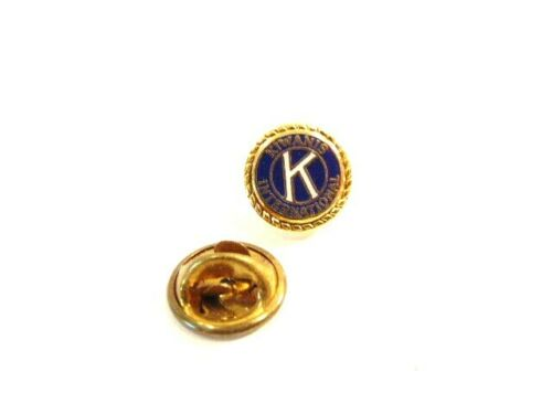 small Kiwanis International tie tack or lapel pin