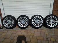 Genuine BMW 3-series winter wheels & tyres to suit model years 2004 to 2013