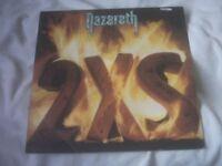 Vinyl LP 2 X S - Nazareth A& M SP 4901 USA Pressing 1982 Stereo