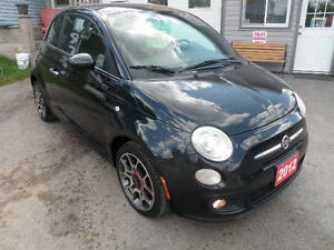 2012 Fiat 500 Sport Coupe (2 door) Kawartha Lakes Peterborough Area image 1