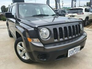2015 Jeep Patriot MK MY15 Sport 4x2 Grey 5 Speed Manual Wagon Hoppers Crossing Wyndham Area Preview
