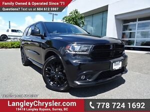 2016 Dodge Durango SXT ACCIDENT FREE w/ ALL-WHEEL DRIVE, SUED...