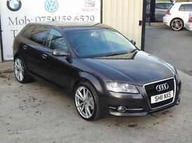 AUDI A3 2.0 SPORTBACK TDI SE 5d 138 BHP (FINANCE & WARRANT (grey) 2011