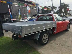 2004 Holden Commodore VY II ONE Tonner S Red 4 Speed Automatic Cab Chassis Brooklyn Brimbank Area Preview
