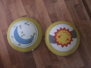 Children's Bedroom Ceiling Light Sunrise/Sunset -Moon or Sun