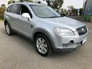 2008 Holden Captiva CG MY08 LX (4x4) Silver 5 Speed Automatic Wagon Hoppers Crossing Wyndham Area Preview