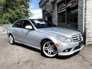 2009 Mercedes-Benz C350 4 Matic Navigation Toit Panoramique