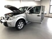 2012 Nissan Navara D40 S5 MY12 ST-X 550 Silver 7 Speed Sports Automatic Utility Seaford Frankston Area Preview