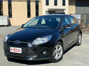 2013 Ford Focus Trend Black 5 Speed Manual Hatchback Burleigh Heads Gold Coast South Preview
