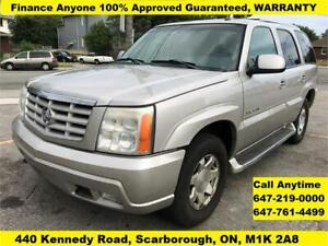 2005 Cadillac Escalade FINANCE APPROVED 3 YEARS WARRANTY 7-Seat