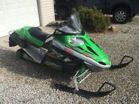 07 Arctic Cat F6 - New Track and Motor