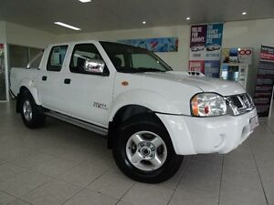 2013 Nissan Navara D22 Series 5 ST-R (4x4) White 5 Speed Manual Dual Cab Pick-up Westcourt Cairns City Preview