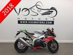 2018 Aprilia RSV4 1000 RF LE - V3218 - No Payments For 1 Year**
