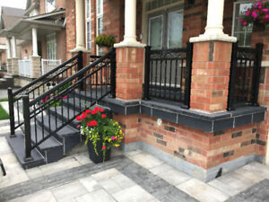 Aluminum Railings, Columns, Glass, Gates - Maintenance FREE!