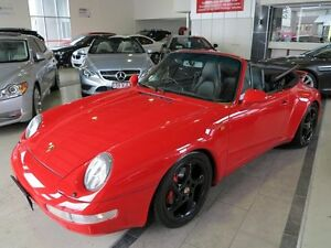 1996 Porsche 911 Carrera 993 Red 4 Speed Sports Automatic Cabriolet Albion Brisbane North East Preview