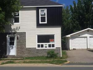 Spacious 3 bdrm duplex available. Located on Riverside Drive.