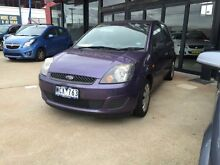 2007 Ford Fiesta WQ LX Purple 4 Speed Automatic Hatchback Fyshwick South Canberra Preview