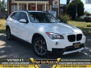 2013 BMW X1 28i AWD PanoRoof Dualshift HtdSts Alloys