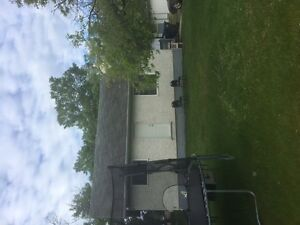 Good 3 bedroom house on large lot by the hospital