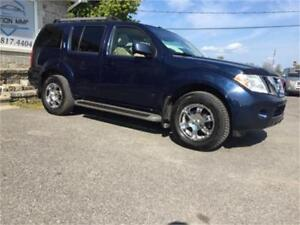 NISSAN PATHFINDER LIMITED 2008 FULL LOAD financement 100%