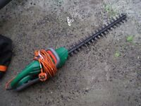 """electric hedge trimmers 24"""" double blade"""