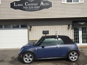 2005 MINI Cooper Convertible S-CERT/ETESTED, Leather, Stick