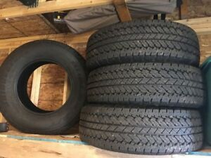 NEW Bridgestone tires 265/70R 17