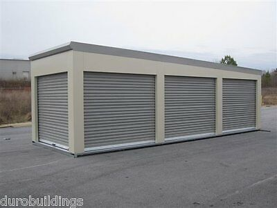Durosteel Janus 10x7 Self Storage 650 Series Metal Roll-up Door Hdwe Direct