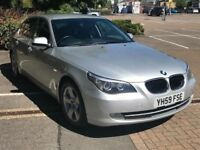 BMW 520D BUSINESS AUTOMATIC SAT NAV LEATHER 07379189143