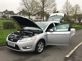 FORD MONDEO 1.8 TDCI ZTEC 5 DOOR +1YR PCO+2KEYS+1YR MOT+HPI CLEAN+FULL SERVICE HISTORY +1 OWNER