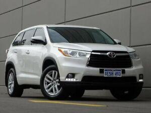 2015 Toyota Kluger GSU50R GX 2WD White 6 Speed Sports Automatic Wagon Maddington Gosnells Area Preview