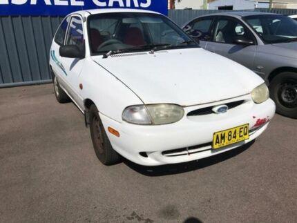 1999 Ford Festiva WF Trio White 3 Speed Automatic Hatchback