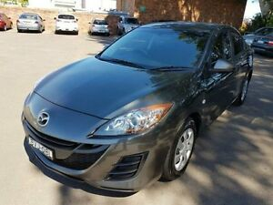 2011 Mazda 3 BL 10 Upgrade Neo Grey 6 Speed Manual Sedan Georgetown Newcastle Area Preview