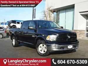 2017 RAM 1500 SLT *ACCIDENT FREE*ONE OWNER*LOCAL BC TRUCK*