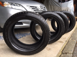 "4 Michelin Sport tires A/S 3 17""   Used one year only"