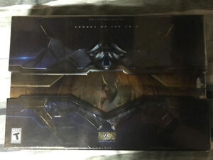 Starcraft 2 Legacy of the Void Collector's edition SEALED