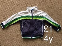 Boys Jacket size&price on the photo