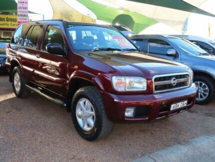 2004 Nissan Pathfinder WX II MY2003 TI Red 4 Speed Automatic Wagon Minchinbury Blacktown Area Preview