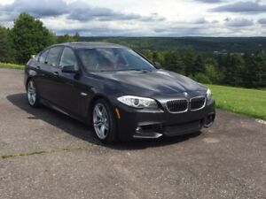 2013 BMW 5 Series with M Sport Package
