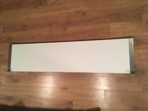 Shelf - 1 panel, white