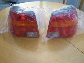 VW Golf MK IV rear light lenses