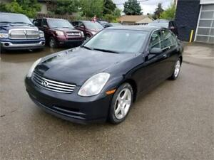 2004 INFINITI G35 Luxury**One Owner**No Accidents**Extra Tires