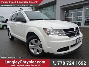 2016 Dodge Journey CVP/SE Plus ACCIDENT FREE w/ U-CONNECT BLU...
