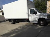 Moving Truck - Cube Van and Driver for Hire - Mover
